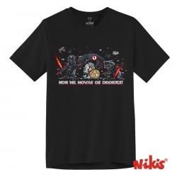 Camiseta Non me movas Os Droides
