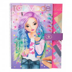 "Top model, libro para colorear ""Special design book\"""