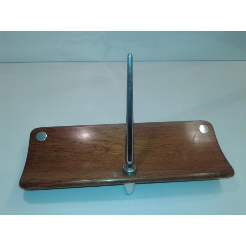 Escribanía madera/aluminio 4