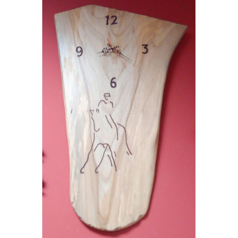 Reloj artesanal jinete