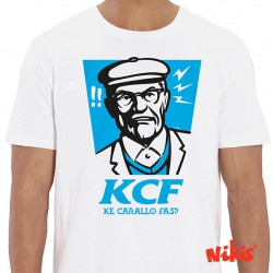 Camiseta unisex 'Ke carallo fas'