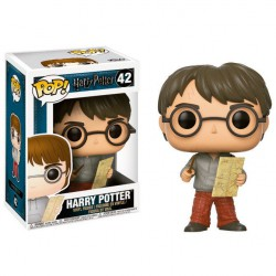 Funko POP! Harry Potter con mapa del Merodeador