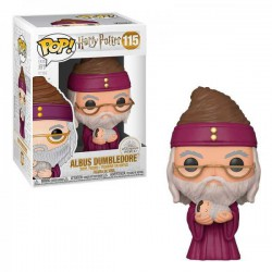 Funko POP! Albus Dumbledore con Baby Harry