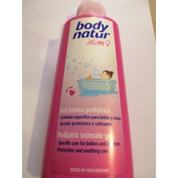 BODY NATUR GEL INTIMO PEDIATRICO 200 ML.