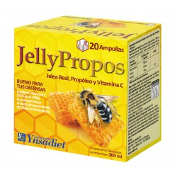 YNSADIET JALEA REAL JELLY PROPOS 20 VIALES