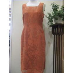 Zona Oulet Vestido Naranja