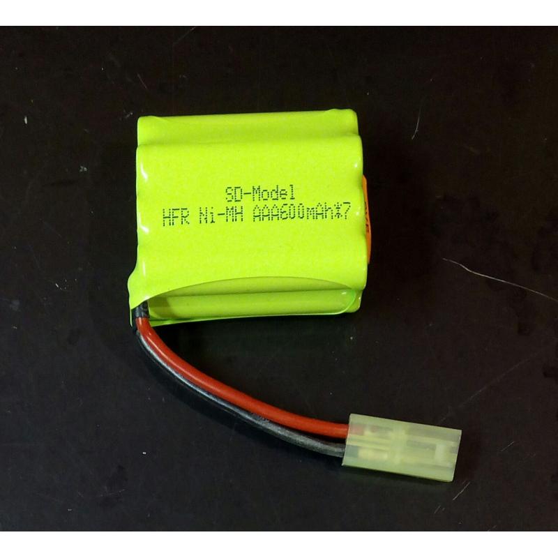 Batería NiMh 8.4V 600mAh