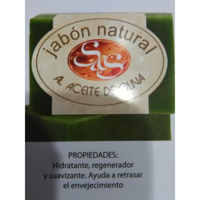 Jabon natural aceite de oliva