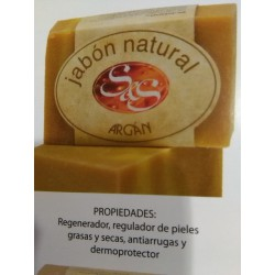 Jabon natural argan