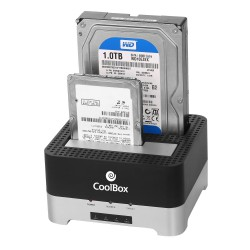 COOLBOX DOCKING STATION HARD DRIVE DUPLICATOR