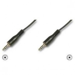 CABLE AUDIO 5M JACK STEREO 3,5MM MACHO-MACHO