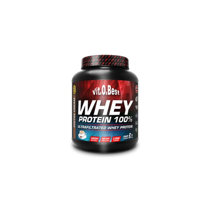 WHEY PROTEIN 100  907GR.  CAFE