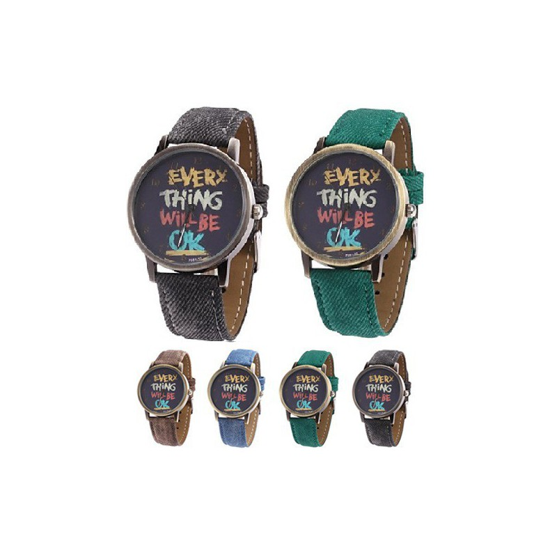 "Reloj ""Everything will be ok"""